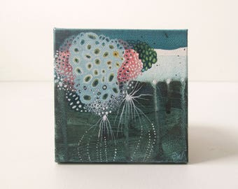 Four: Small Abstract Painting
