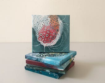 Twenty Seven: Small Abstract Painting