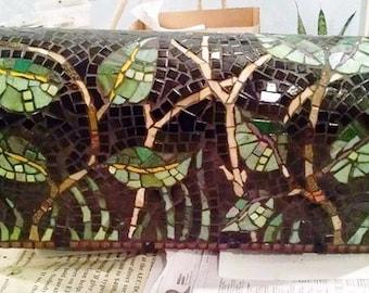 Mosaic Mailbox woodsy glen