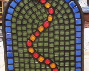 Mosaic Mailbox Glass drop beads