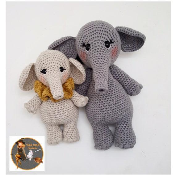 Esther the Elephant Free Amigurumi Pattern | Jess Huff | 570x570