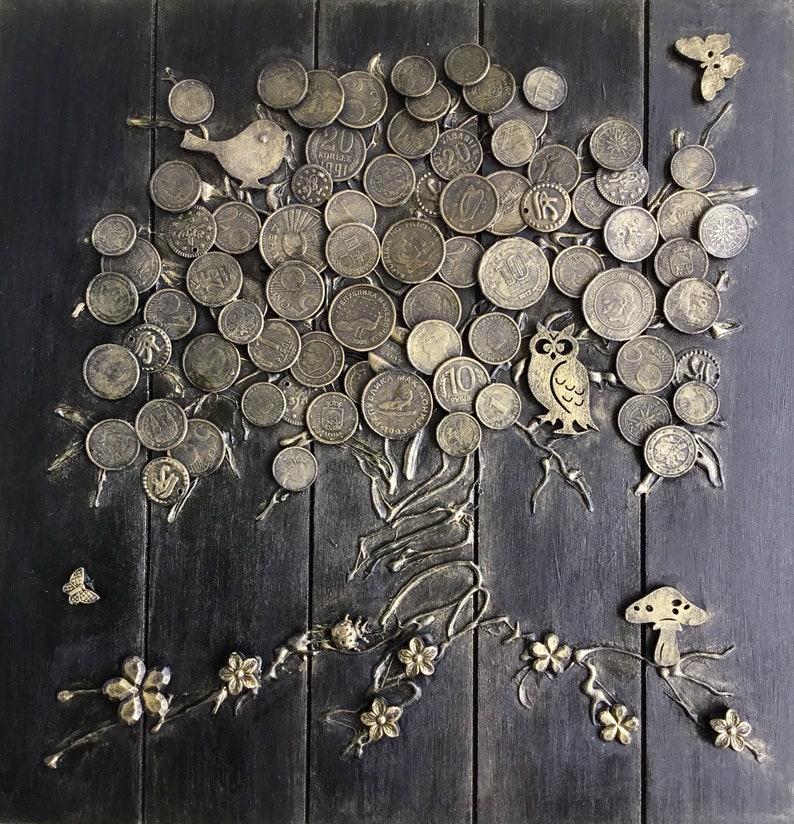 Glücksbringer Geldbaum Handmade Etsy