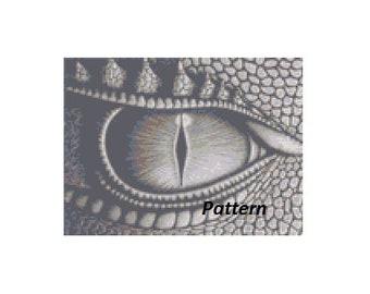 Grey Dragon Eye Etsy