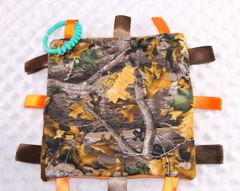 Realtree Camo Sensory Blanket / Realtree Baby / Camo Baby