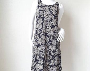 49b898eed6 Vintage 80s Floral Laura Ashley Dress   Summer Day Dress  Sun Dress Japan  Size 11