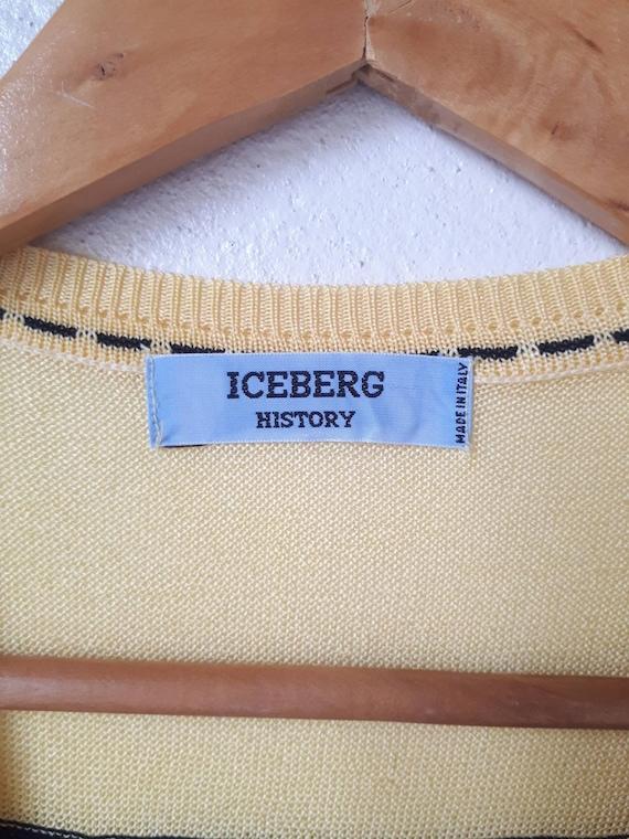 Vintage Iceberg History Sweater Vest - image 2