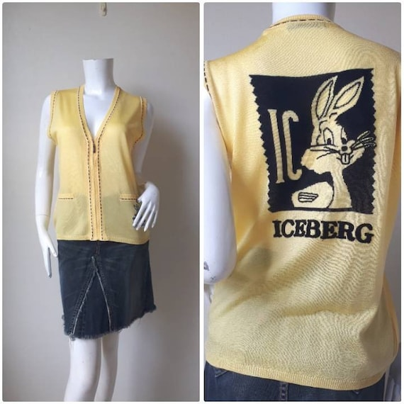 Vintage Iceberg History Sweater Vest