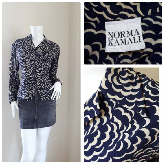 Sale!!! Norma Kamali Vintage shirt 1980's/ oversized shirt Made in Japan d6cihbXQp
