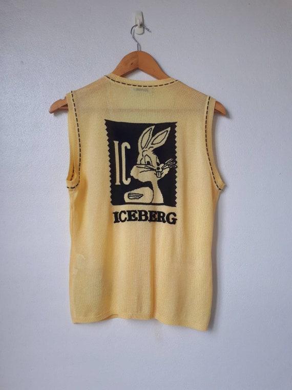 Vintage Iceberg History Sweater Vest - image 10