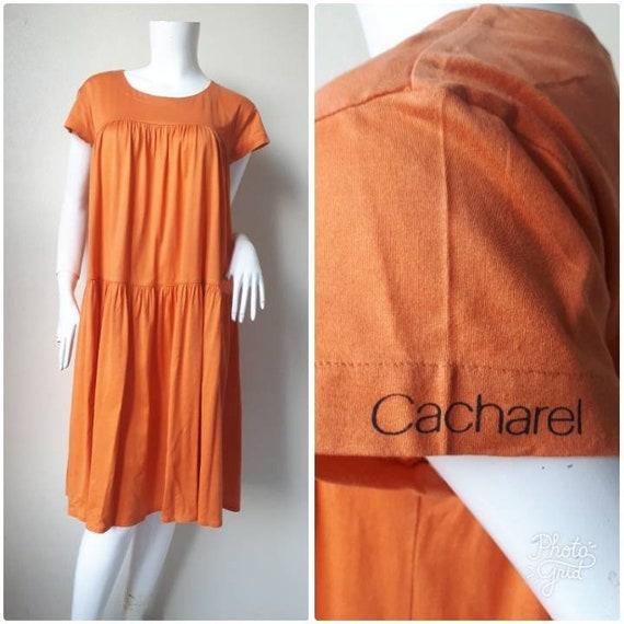 VINTAGE Cacharel Cotton Dress