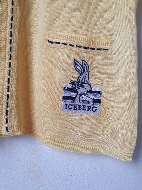 Vintage Iceberg History Sweater Vest - image 3
