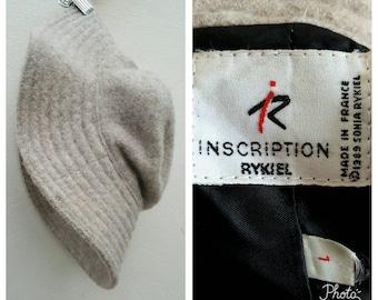 Vintage 1980s Sonia Rykiel Wool Hat Size 1