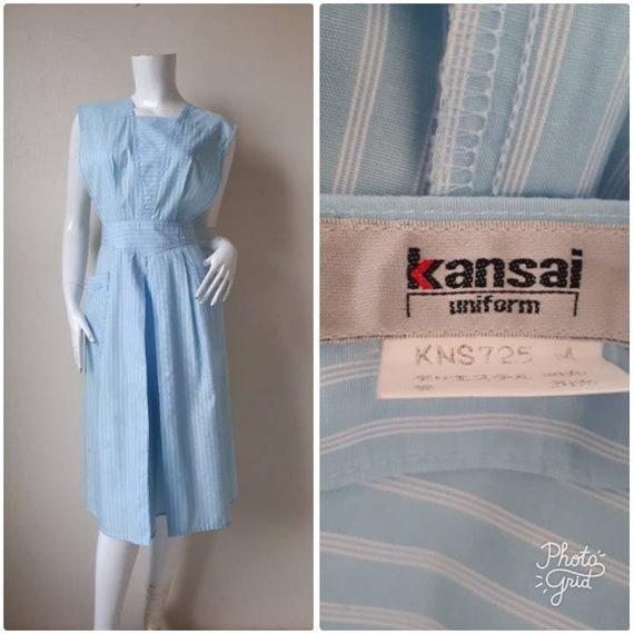 KANSAI Yamamoto Apron jumper  Dress / Rare Yamamot