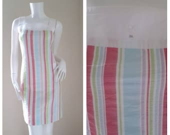 Vintage Courreges cotton Sun dress Size 38 S- M