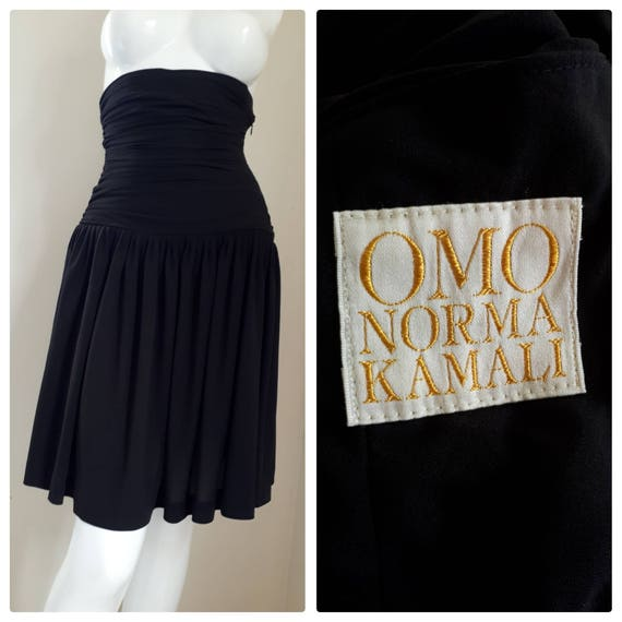 Norma Kamali • Ruched high waisted skirt Size Smal