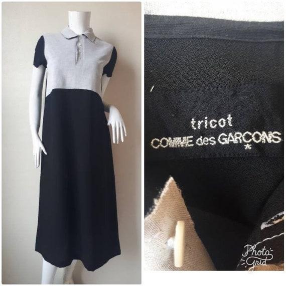 Vintage 1992s COMME des GARCONS tricot dress / Siz