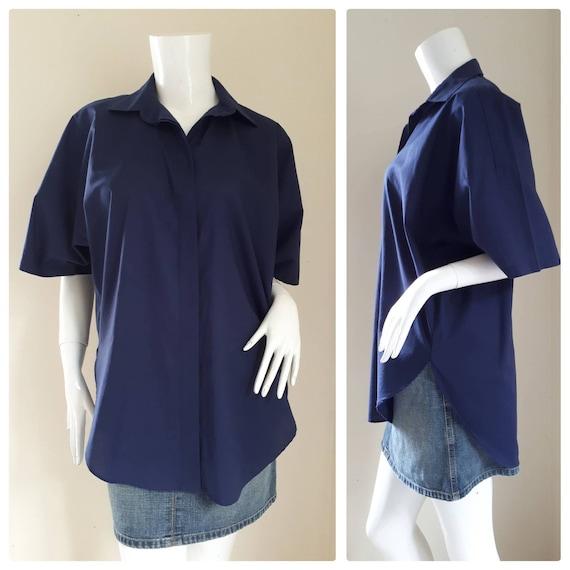 Norma Kamali Vintage shirt 1980's/ oversized shirt
