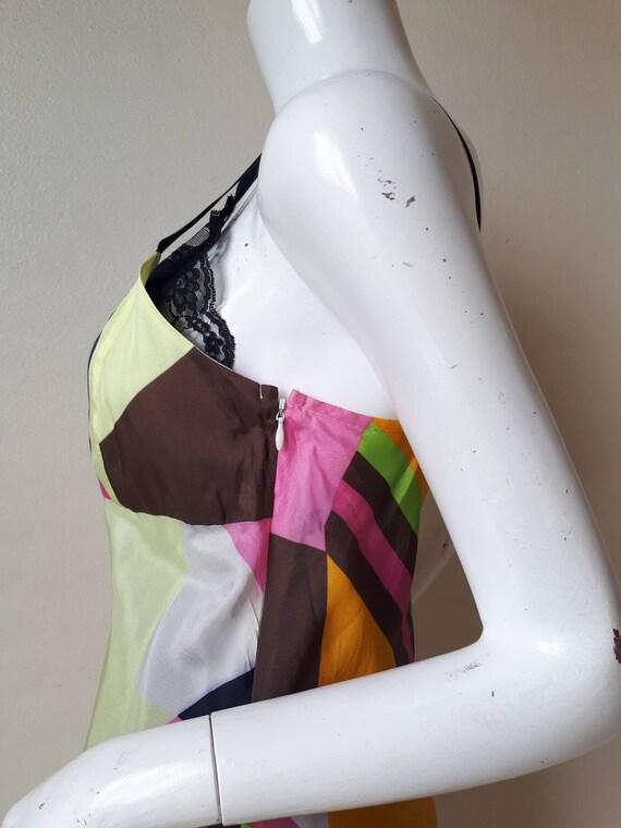 Vintage tricot COMME des GARCONS Silk dress Size M - image 6