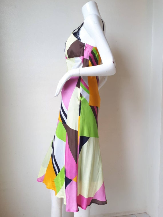 Vintage tricot COMME des GARCONS Silk dress Size M - image 4