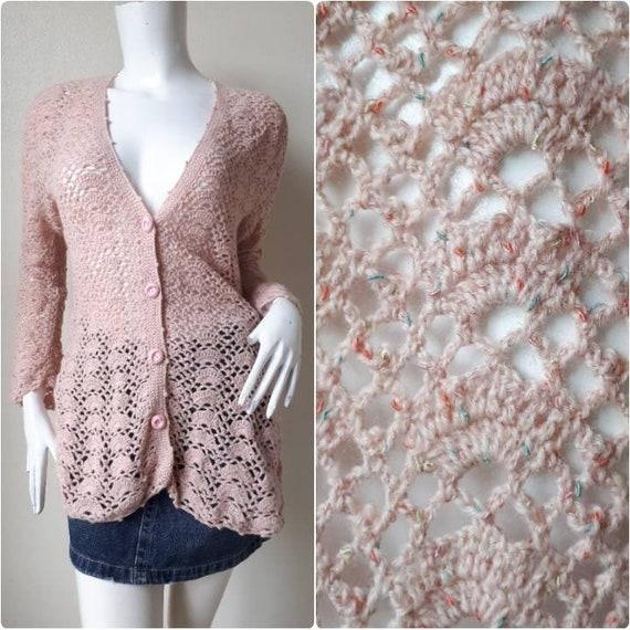 Crochet Long top/ Crochet jacket