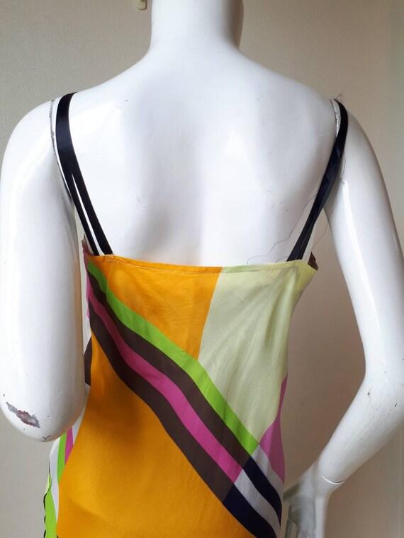 Vintage tricot COMME des GARCONS Silk dress Size M - image 5