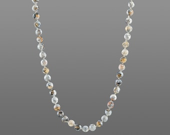Malachite Sterling Silver Bracelet Homme Femme Gemme Croix Fermoir diyk 483