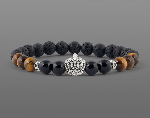 Crown Bracelets For Men Gifts Husband Birthday Gift Small