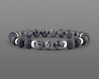 Lava diffuser bracelet Essential oil Diffuser bracelet Aromatherapy diffuser jewellery Beaded bracelet Diffuser oil bracelet for men