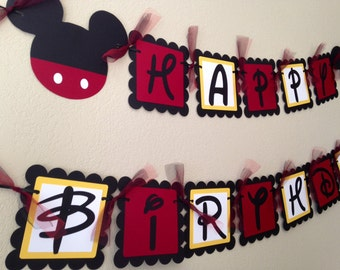 Mickey Mouse Birthday Party, Mickey Mouse Birthday, Mickey Mouse Banner, Mickey Decorations, Mickey Mouse Party, Mickey Mouse Ears