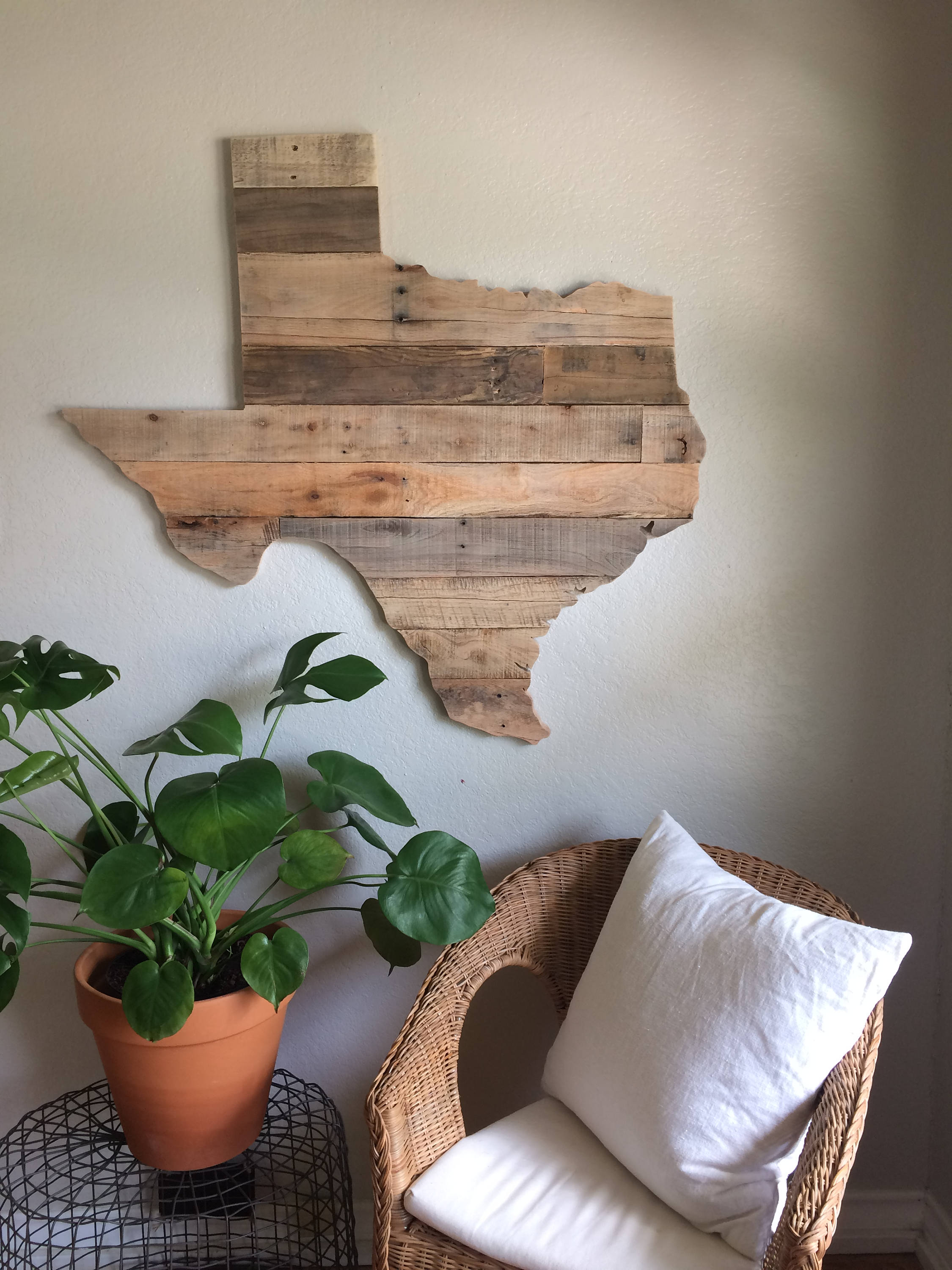 For Local Pick Up Reclaimed Wood Pallet Sign Decor Wall Etsy
