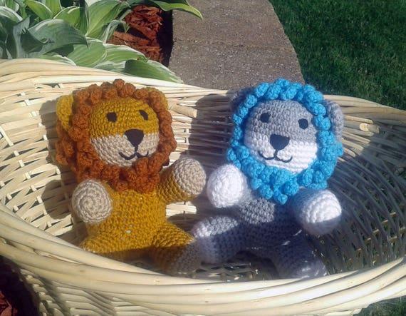 Lion Pattern Lion Crochet Crochet Lion Pattern Baby Lion Etsy