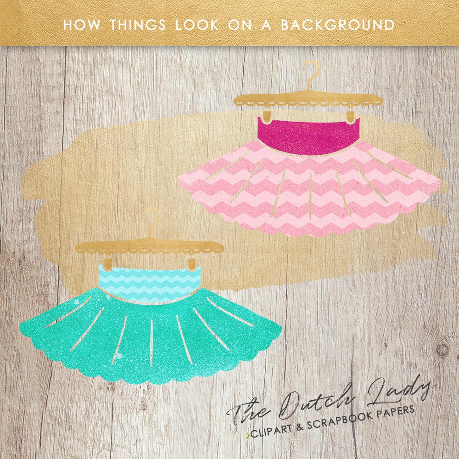 ballerina clipart set - watercolor ballet images - dancing graphics - kids clipart - pink & aqua - instant download - 25 .png fi