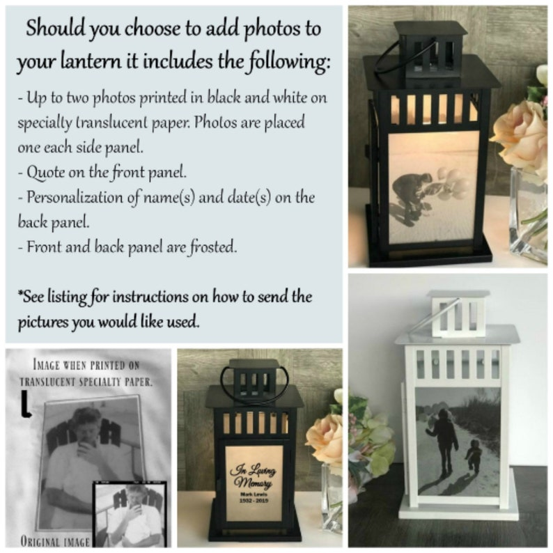 Sympathy Gift Sympathy Candle Bereavement Gift Loss of a Loved One Keepsake Memorial Lantern Remembrance