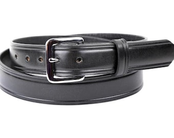 Tory Leather 24 USA Made English Riding Formal Dress Belt Mens//Womens Black