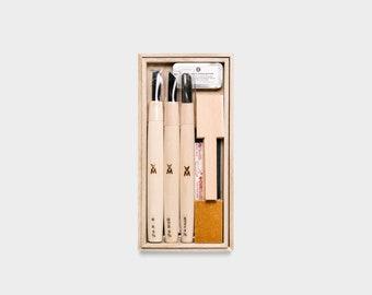 Japanese Beginner Spoon Carving Kit