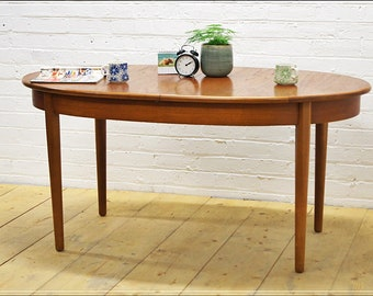Mid Century Dining Table Etsy