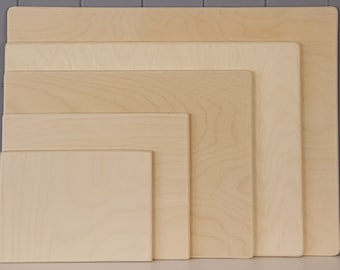 Wooden Sketching or Drawing Board. Perfect for Watercolour Stretching, Illustrators, Painting Sketching Designer Artist Board - A2 A3 A4 A5
