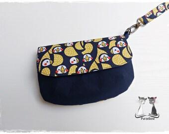 Cosmetic bag - Make-up bag - Clutch - Eleni Bag - Birds