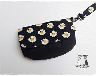 Cosmetic bag - Make-up bag - Clutch - Eleni Bag - Flowers
