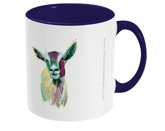 Goat mug, the perfect goat gift.