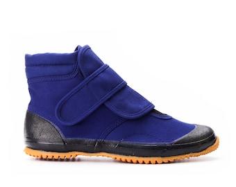 Japanese Vegan dancing shoes UNAGI by F U G U, Ankle-high, ultra-light!