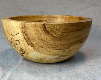 Spalted Hickory Bowl