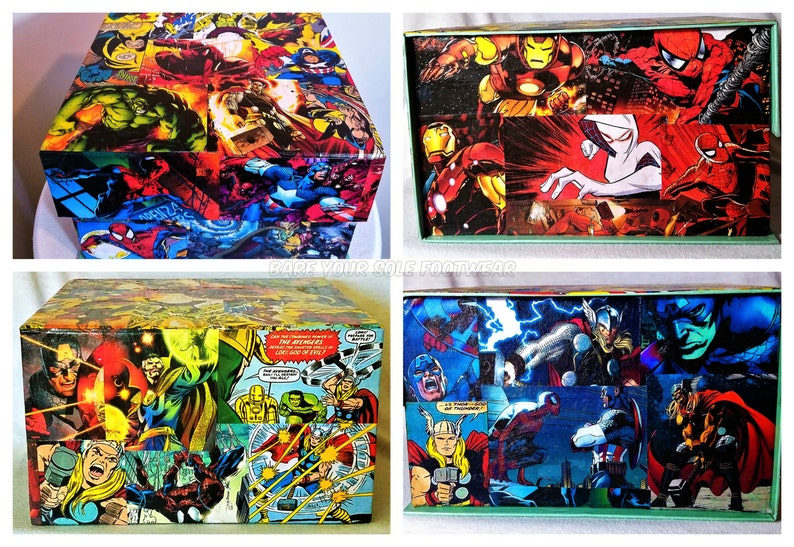 50ff584facada3 Marvel Comics Multi-Purpose Box. Perfect for gifts weddings