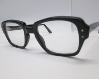 16321bd8ad USS Military Surplus BCG Black 48 Clear Lenses Richie Tozier EyeGlasses The  Movie It Steven King Cosplay Halloween Vintage New