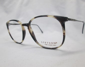 100dc9cb75 Zyloware Stetson Eyeglasses New Vintage Legends 101 Antique Tortoise 55 Eye  Frame Demo Lenses