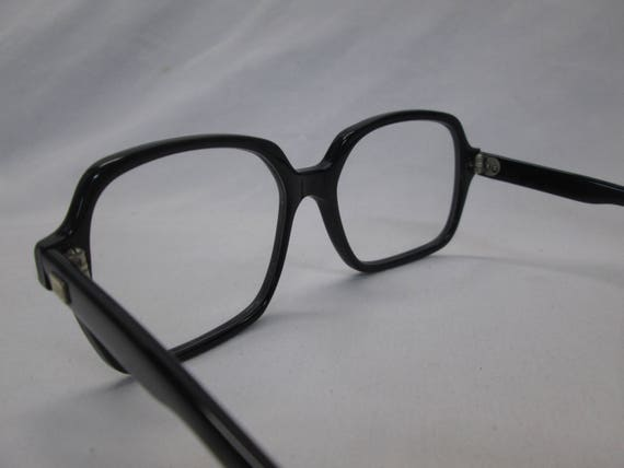 Eyeglasses Tozier IT BCG Military Surplus Vintage NOS GI Brown Clear Cables 48