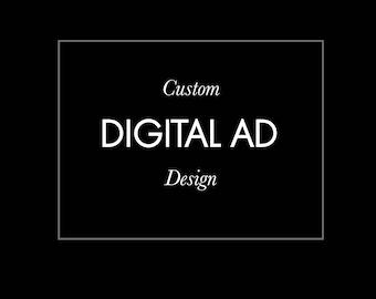 custom pageant ad design etsy