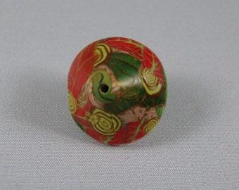 Millennium Garden leaf bead