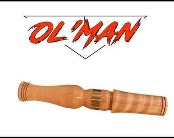 Simple Man  (Ol ' Man )  Curly Maple   Owl Hooter