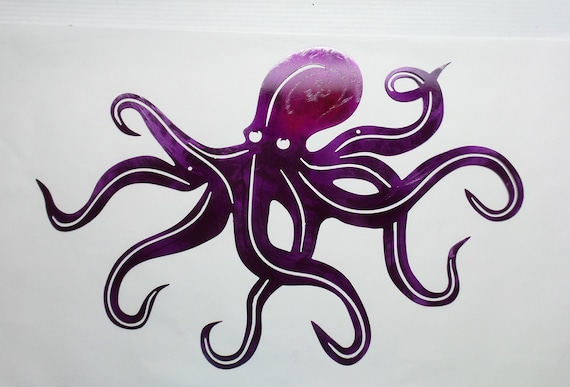 Octopus Beach House Decor